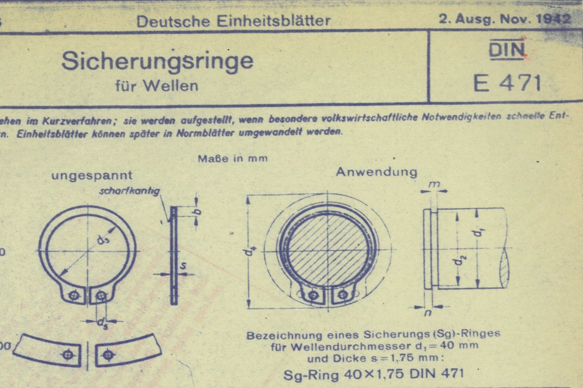 SEEGER rings patent